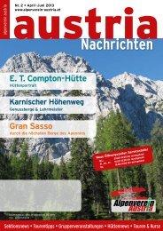 Nachrichten - Alpenverein Austria