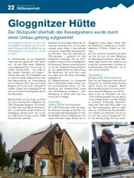 Hüttenporträt: Gloggnitzer Hütte - Gebirgsverein