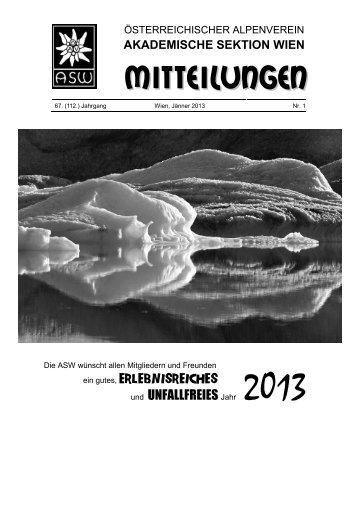 Heft #1 - Akademische Sektion Wien