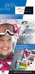 aktueller Skialpinfolder 2012/13 - Österreichischer Alpenverein Wien