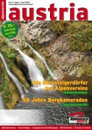 Die Bergsteigerdörfer des Alpenvereins 50 Jahre Bergkameraden