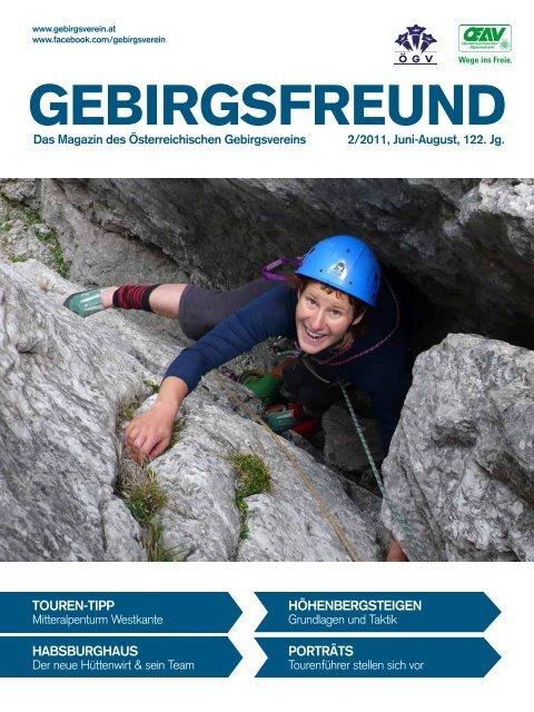 Editoral / Impressum - Gebirgsverein