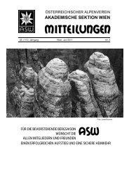 Heft #3 - Akademische Sektion Wien