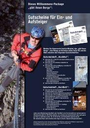 gibt Ihnen Berge - Österreichischer Alpenverein Wien