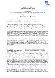 Abstracts - Österreichische Akademie der Wissenschaften