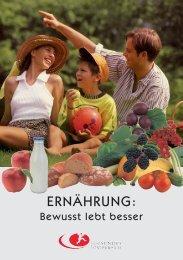 Ernährung zw - Fonds Gesundes Österreich