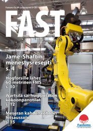 Jame-Shaftin menestysresepti s. 4 - Fastems