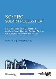 Solar Process Heat - Planning guideline for solar process heat