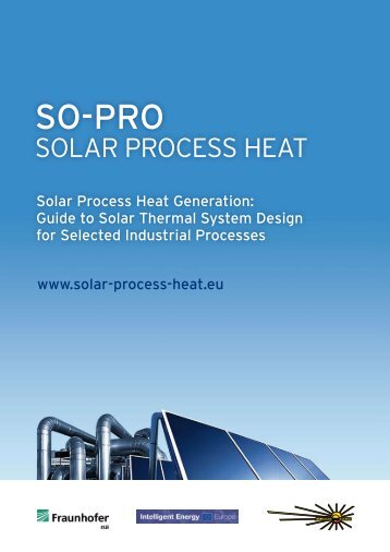 Solar Process Heat - Planning guideline for solar process heat