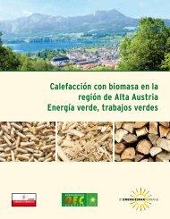 Calefacción con biomasa en la región de Alta Austria Energía verde ...
