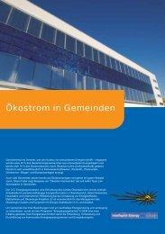 Ökostrom in Gemeinden - OÖ Energiesparverband