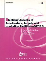 Shielding Aspects of Accelerators, Targets and Irradiation Facilities ...