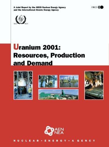 Uranium 2001 - OECD Nuclear Energy Agency