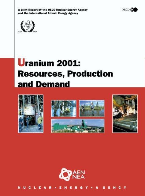 Uranium 2001 Oecd Nuclear Energy Agency