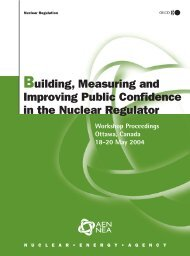 Building, Measuring and Improving Public Confidence in the ...