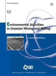 Environmental Activities in Uranium Mining and Milling