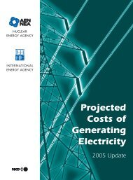 Projected Costs of Generating Electricity - OECD Nuclear Energy ...