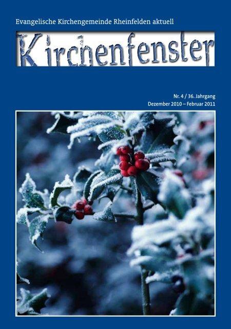 Gemeindebrief Dezember 2010 / Januar / Februar 2011