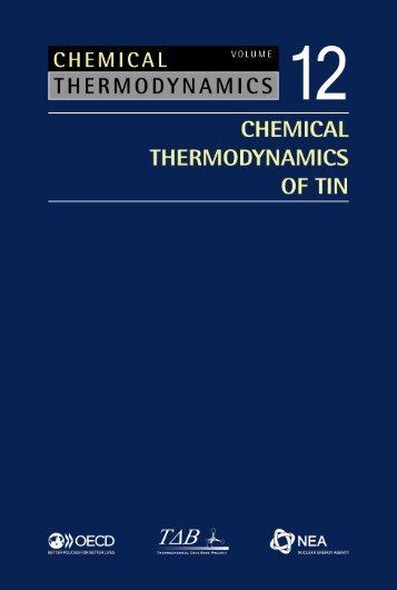 Chemical Thermodynamics of Tin - Volume 12 - OECD Nuclear ...