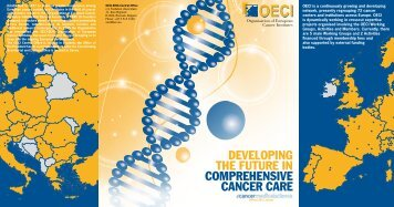 Developing the future in Comprehensive CanCer Care - OECI
