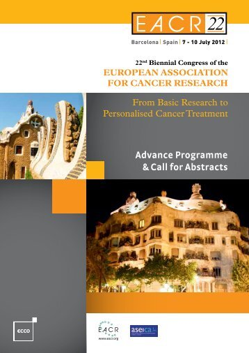 Advance Programme & Call for Abstracts 22nd Biennial ... - OECI