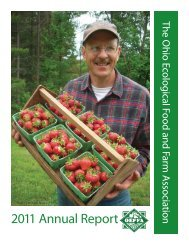 OEFFA 2011 Annual Report 12 pg.indd - Ohio Ecological Food and ...