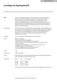 Grundlagen der Regelungstechnik - Festo Didactic