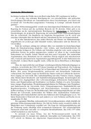 Grenzen der Mitbestimmung Manfried Welan, Wien