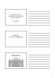 Folien 1 (pdf, 20KB) - Institut für öffentliches Recht