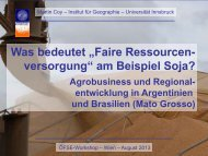 """""""Was bedeutet """"Faire Ressourcenversorgung"""" am Beispiel ... - ÖFSE"""
