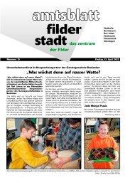 """""""Was wächst denn auf nasser Watte? - Stadt Filderstadt"""
