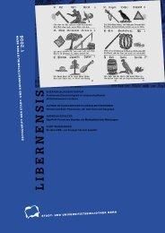 Libernensis 1/2006 - Die Oekonomische Gesellschaft Bern ...