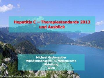 Hepatitis C – Therapiestandards 2013 und Ausblick