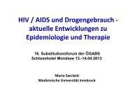 HIV/AIDS und Drogengebrauch - ögabs
