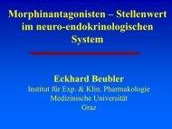 Stellenwert im neuro-endokrinologischen System