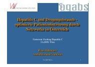 Hepatitis C und Drogengebrauch - optimierte ... - ögabs