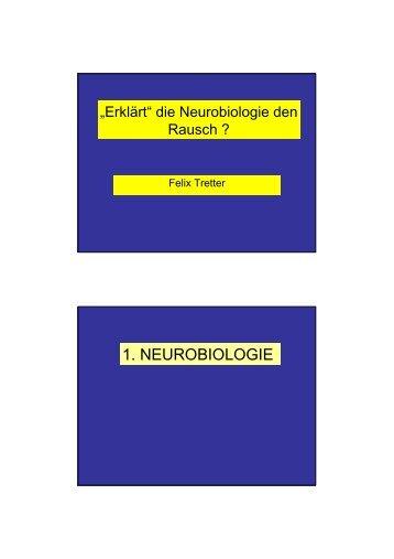 1. NEUROBIOLOGIE