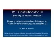 12. Substitutionsforum