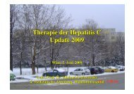 Therapie der Hepatitis C Update 2009