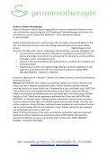 ABSTRACT – State of the Art in der Mesotherapie - Österreichische ... - Page 2