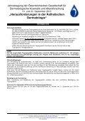 """""""Herausforderungen in der Ästhetischen Dermatologie"""" - Page 2"""