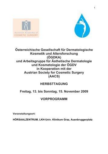 Österreichische Gesellschaft für Dermatologische Kosmetik und ...