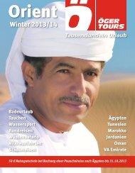 Katalog - Öger Tours