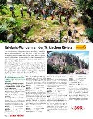 Erlebnis-Wandern an der Türkischen Riviera - Öger Tours