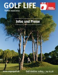 Infos und Preise - Öger Tours