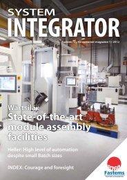 System Integrator - Fastems