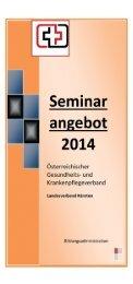 Kursprogramm, 2014 - ÖGKV