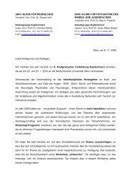 UNIV. - Österreichische Gesellschaft für Neurologie