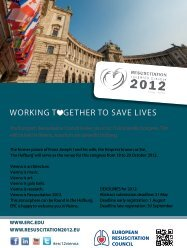 working t gether to save lives - Österreichische Gesellschaft für ...