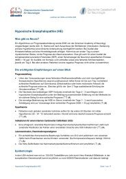 Hypoxische Enzephalopathie (HE) - Österreichische Gesellschaft für ...